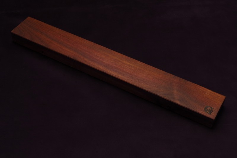 Магнитный держатель для ножей MDG 450 мм, орех