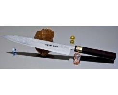 Кухонный нож Moritaka AS Damaskus Yanagiba 360 мм.