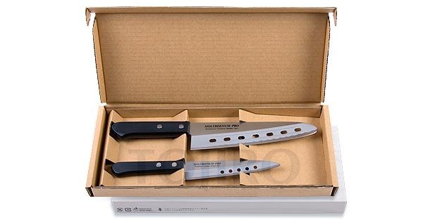 Набор из 2 ножей: поварской и универсальный Tojiro FG-113