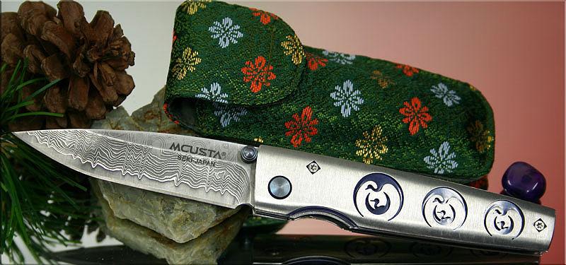 Складной нож Mcusta MC-0093D Tsuru