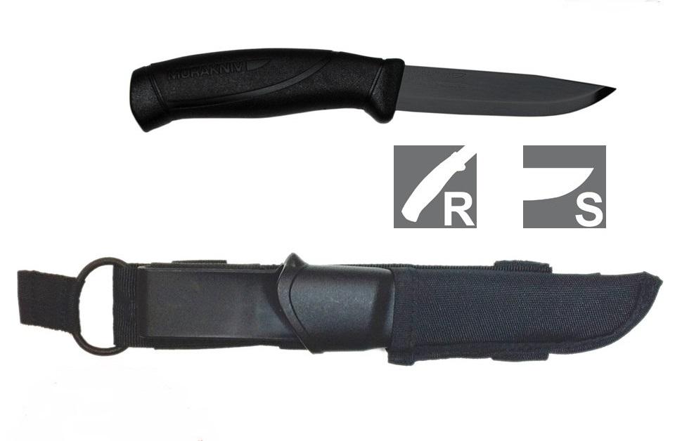 Туристический нож Mora Companion Tactical, 12351, 104 мм