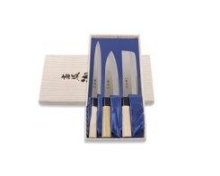 Набор ножей для суши: Янаги, Деба и овощной Tojiro FD-122