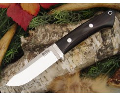Нож туристический Bark River Drop Point Hunter African Blackwood