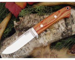 Нож туристический Bark River Drop Point Hunter Tulipwood