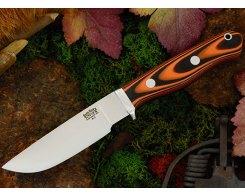 Нож туристический Bark River Gameskeeper Tigerstripe G-10