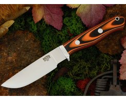 Нож туристический Bark River Gameskeeper Tigerstripe G-10