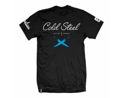 Футболка Cold Steel TJ3 Cursive Black Tee Shirt L футболка чёрная разм. L
