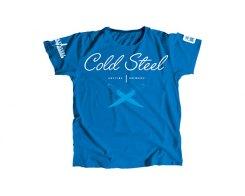 Футболка женская Cold Steel TK3 Cursive Blue Tee Shirt Wo