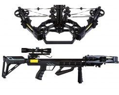 Арбалет блочный Жнец 410 Plus Ek Accelerator 410 Plus c комплектацией, Ek Archery/Poe Lang CR-068BP-95, черный