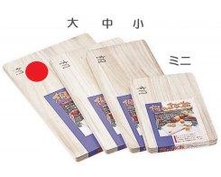 Разделочная доска Fujita Woodworks Paulownia, HK-20, 450х300х20 мм.