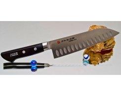 Универсальный нож Fujiwara Santoku FKS-22, 18 см.