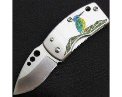 Складной нож с зажимом для денег G.Sakai KAWASEMI 11167, Money Clip