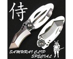 Складной нож с зажимом для денег G.Sakai 11171 Samurai Money Clip S.P. TANTO