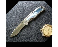 Туристический складной нож G.Sakai GS-11165  RIP NICKEL SILVER TEMP