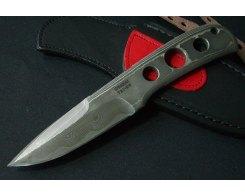 Туристический нож G.Sakai Tei-En C-31 Fixed/damascus