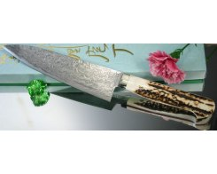 Кухонный поварской нож Hiroo Itou Гьюто, 160 mm