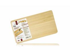 Деревянная разделочная доска Hatamoto H-345, 42 х 23 х 2 см