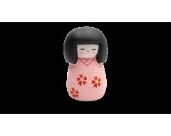 "Фигурка ""МИНИ-КУКОЛКА КОКЭСИ"" Hatamoto MD-02, 10см, ручная работа, розовый"