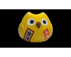 "Фигурка ""Манэки- Сова"" Hatamoto MS-03, 5см, ручная работа, желтая"