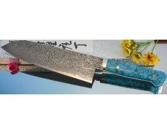 Кухонный нож Сантоку Hiroo Itou HI-1130, 18 см