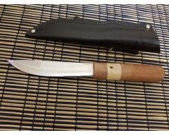 Якутский нож ручная ковка, Антарес Y65L-SK, сапели+кап, 65Х13, 15.5 см