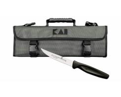 Сумка для ножей повара, KAI DM-0781, 7 ячеек.