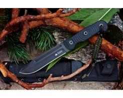 Тактический нож Kizlyar Supreme 00067 Maximus D2 Black Titanium