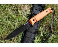 Тактический нож Kizlyar Supreme 10192 Delta, AUS-8 Black Titanium OH