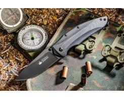 Складной нож Kizlyar Supreme 1597 Zedd AUS-8 BT, 85 мм.