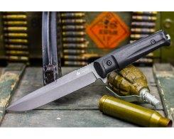 Тактический нож Kizlyar Supreme 2248 Alpha, D2 Dark Stonewash