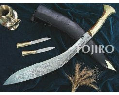 "Кукри нож Nepal Kukri House 18"" Long 18"" Brass Engraved"
