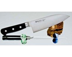 Разделочный нож Misono Molibden Steel Deba 240 мм.