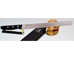 Нож для хлеба Misono Molibden Steel Slicer (Serrated) 300 мм.