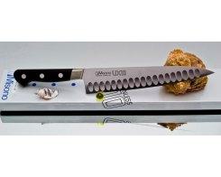 Поварской нож Misono UX10 Steel с проточкой Gyuto 180 мм.