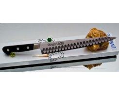 Филейный нож Misono UX10 Steel с проточкой Sujihiki 240 мм.