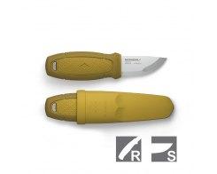Нож Mora Eldris желтый с огнивом