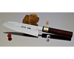 Кухонный нож Сантоку Moritaka AS Damaskus Santoku 185 мм.