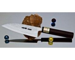 Кухонный нож Сантоку Moritaka AS Damaskus Small Santoku 130 мм.