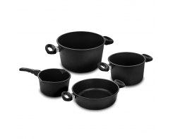 Набор посуды из 4-х предметов AMT, AMT 4-1, антипригарное покрытие