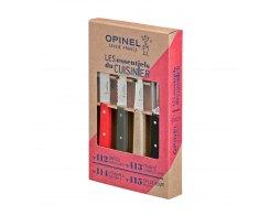 Набор ножей Opinel Les Essentiels Loft, цветные, нержавеющая сталь, (4 шт./уп.)