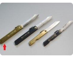 Складной нож хигоноками Nagao Higonokami HDA-100Brass