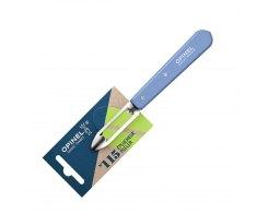 Нож для чистки овощей Opinel №115, нержавеющая сталь, синий, 100 мм.