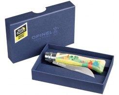 Складной нож Opinel №8 Tour de France - Subleme 2021, нержавеющая сталь, дуб, 85 мм.