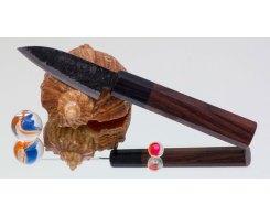 Нож для чистки овощей и фруктов Takeda Hocho NAS, MiniPetty 100 мм.