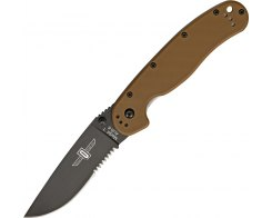 Складной нож Ontario RAT 1 8847CB Coyote Brown, 88.9 мм.