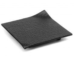 Чугунная подставка под чайник IWACHU 17032, 11х11 см. квадрат, цвет черный