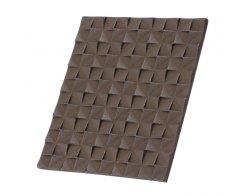 Подставка под горячее IWACHU 17231, 16х14 см. прямоугольник темно-коричневый