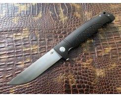 Складной нож Reptilian Джага-01 черный