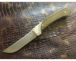 Складной нож Reptilian Пчак-2 yellow ( gold )