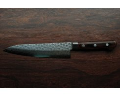 Нож поварской универсальный Sakai Takayuki Damascus Hammered 07228, 180 мм.